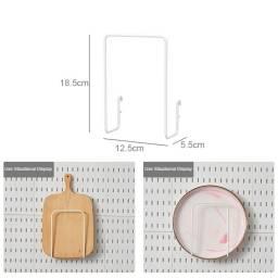Sostenedor Tablas Panel Organizador Plástico