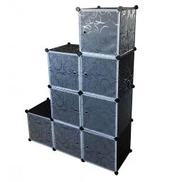 Estantería Organizador Plástico 8 Cubos