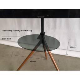 Estante de vidrio templado para Tripode