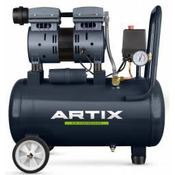 Compresor De Aire 1 Hp 24 Litros Sin Aceite
