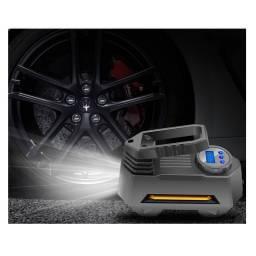 Compresor Inflador de Aire para Autos y Bicis 12 V