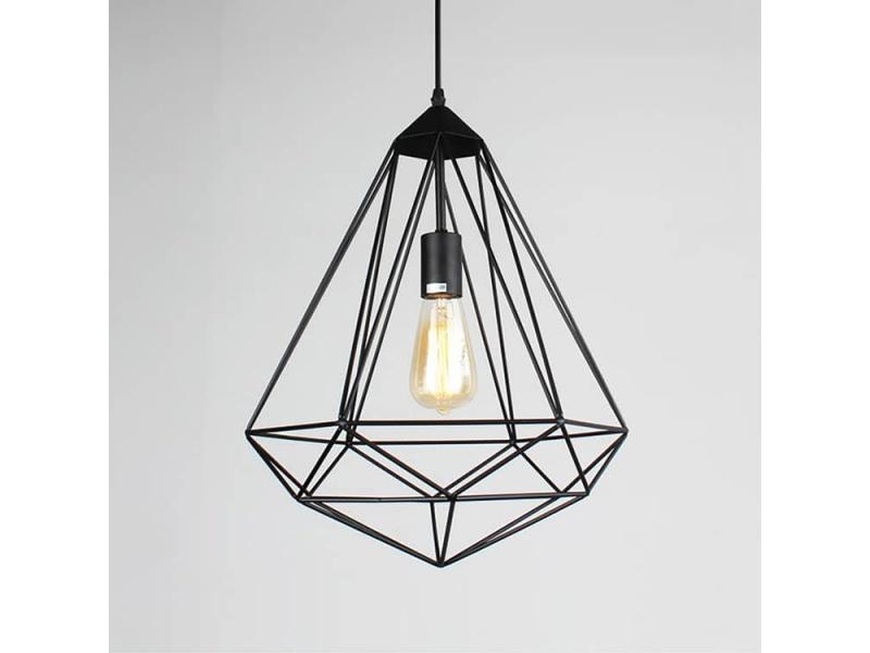 Lámpara Colgante De Metal A