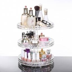 Organizador de Maquillaje con Rotación de 360 Grados Girasol